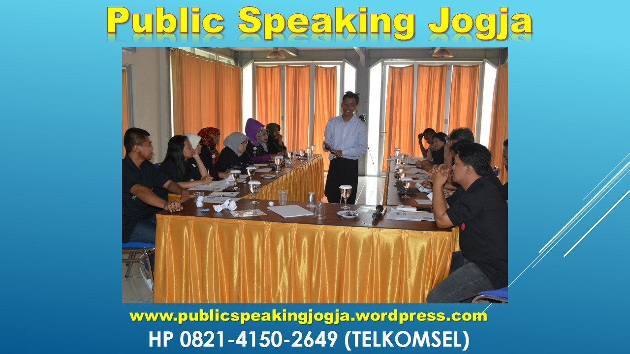 JOGJA PUBLIC SPEAKING