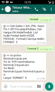 Cara Transaksi Via Telegram Center