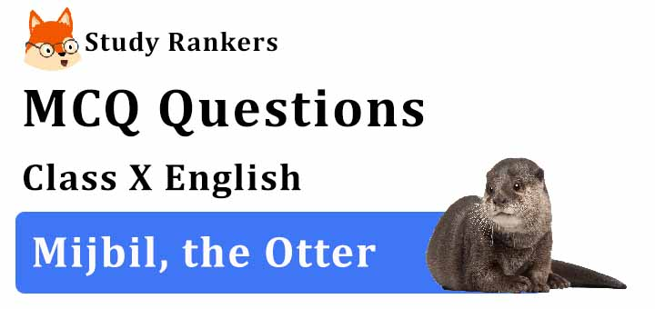MCQ Questions for Class 10 English: Ch 8 Mijbil, the Otter