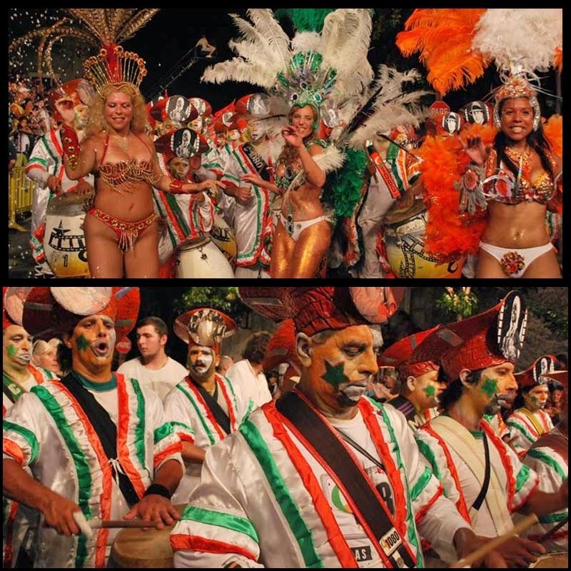 Carnaval. Desfile de Llamadas. Montevideo.C1080. 2010.