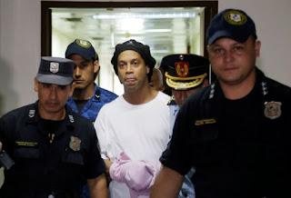 Tiada lagi senyuman Ronaldinho