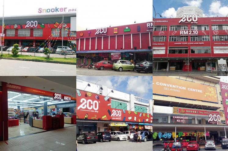 Senarai Lokasi Eco Shop (Kedai 2 Ringgit) Di Seluruh Negeri Selangor