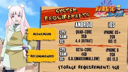 Naruto: Slugfest System Requirements
