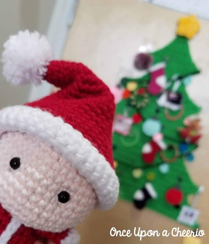 Santa Baby, Santa Claus, Santa Helper Free Amigurumi Crochet Pattern