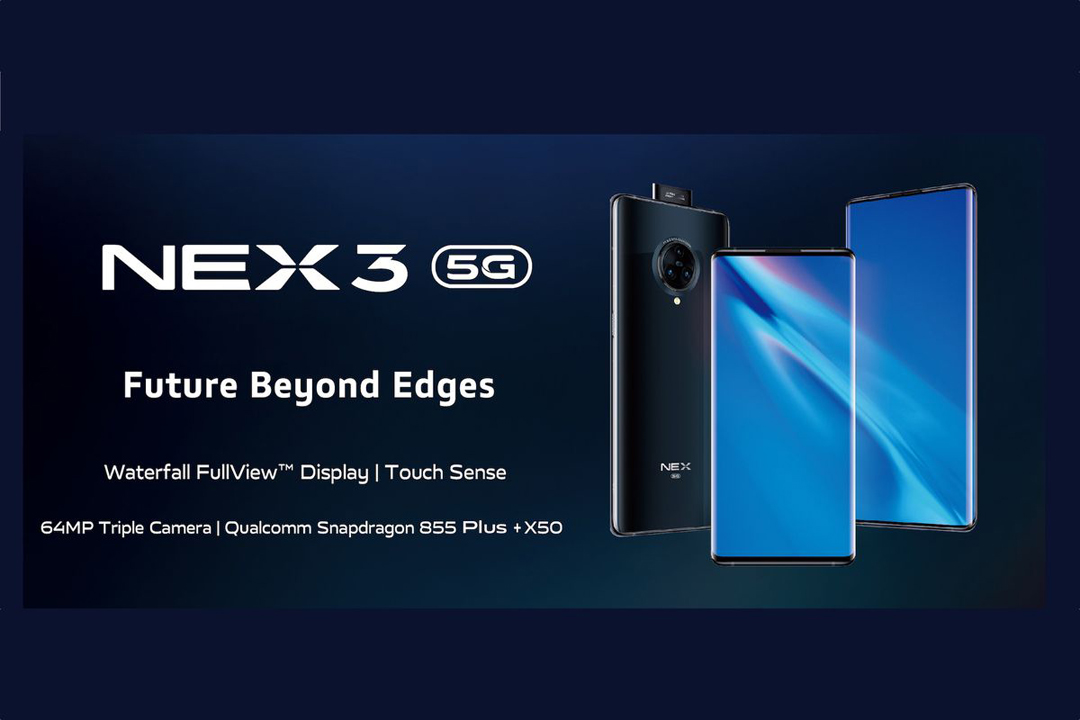 Telefon Pintar Vivo NEX 3 - Pertama di Malaysia Dengan Teknologi 5G