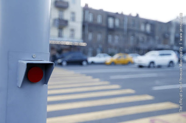 Ereván instalará 37 semáforos para peatones