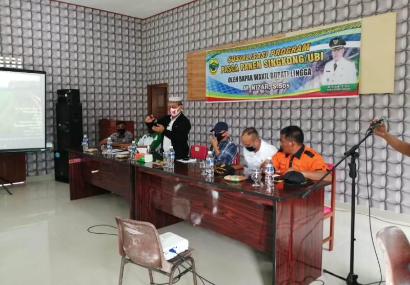 Wakil Bupati Lingga Muhamad Nizar Kunker ke di Kecamatan Singkep Pesisir