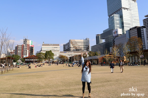 てんしば(天王寺公園)<大阪>