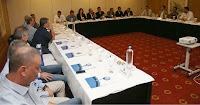 Η 2η συνάντηση του Μίκαελ Σκίμπε με τους προπονητές των ομάδων της Super League και του Γκοδόλια με τους γιατρούς των συλλόγων