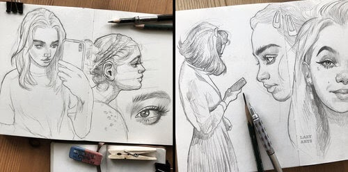 00-Florian-Geyer-Poses-and-Expressions-in-Portrait-Drawings-www-designstack-co