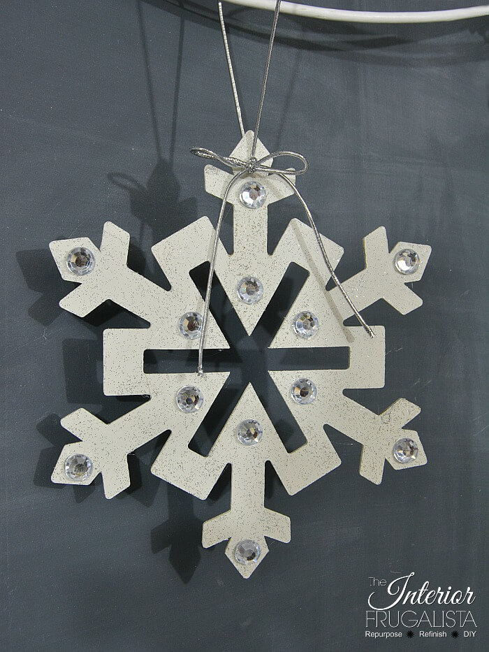 Large Kids Snowflake Craft Idea One