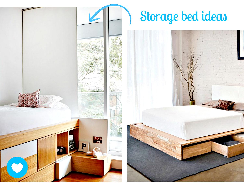 Bedroom storage ideas pinterest Bedroom organization ideas pinterest