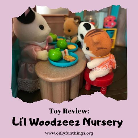 Li'l Woodzeez Nursery Playset Toy Review