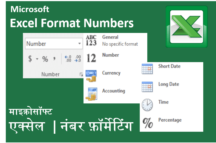 Number Formats in Excel