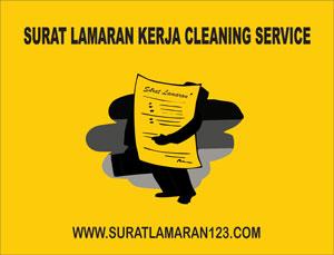 Contoh Surat Lamaran Kerja Cleaning Service Contoh Surat Lamaran Kerja