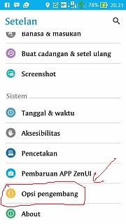 cara menjalankan project android di hp