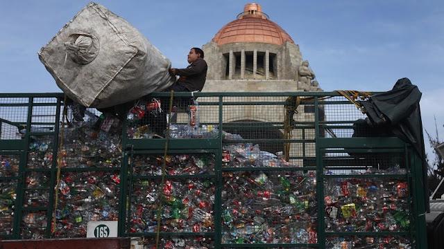 La Ciudad de México prohibirá el uso de plástico desechable de un solo uso