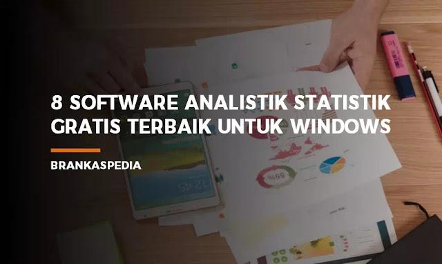 Software Analisis Statistik Gratis Terbaik