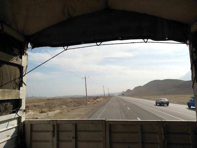 autostop, Iran, paka