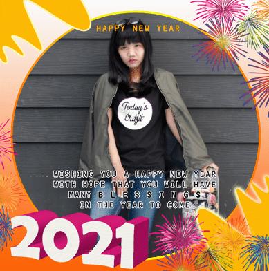 Binghkai Facebook Tahun Baru 2021