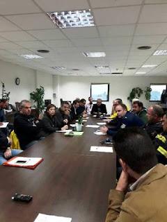 Έκτακτη Σύσκεψη Σ.Ο.Π.Π. στην Περιφερειακή Ενότητα Δυτικού Τομέα Αθηνών