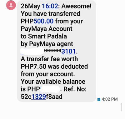 PayMaya Smart Padala Promo