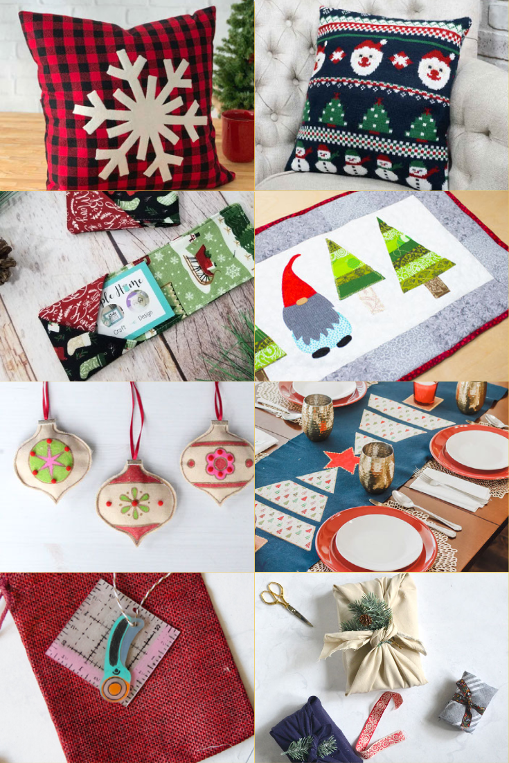 easy Christmas projects to sew or make