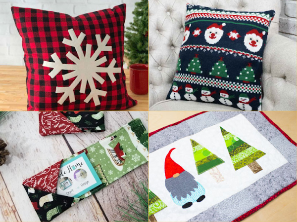 10+ Christmas Projects to Sew or Make