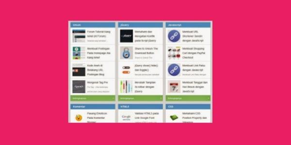 Cara Mudah Buat Sitemaps Keren Mirip Blog Kang Ismet