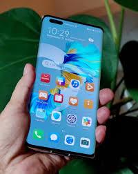Huawei, presentó su línea Mate 40 de teléfonos premium
