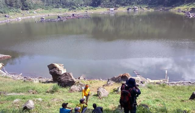 Ranu Lading di Desa Sumberwringin Kecamatan Klakah