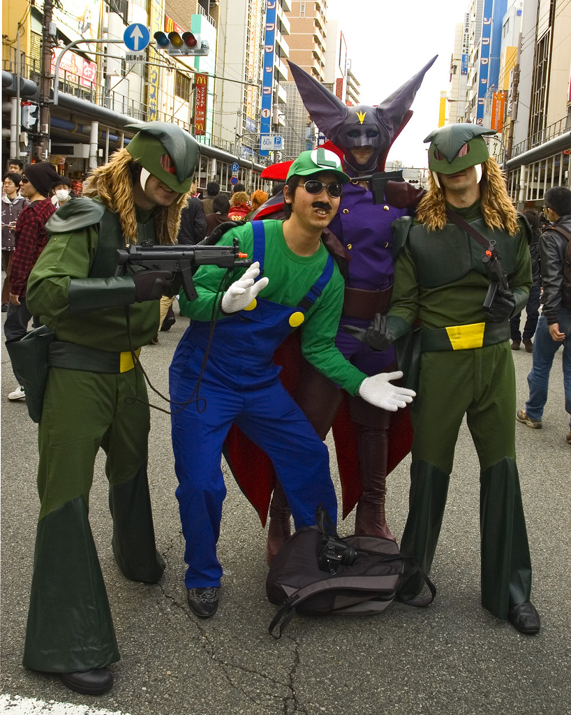 Monday April 23 2012  sc 1 st  Xemnu the Titan & Galactor Cosplay
