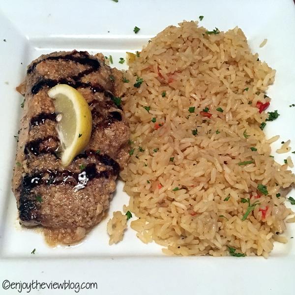 mahi mahi and rice