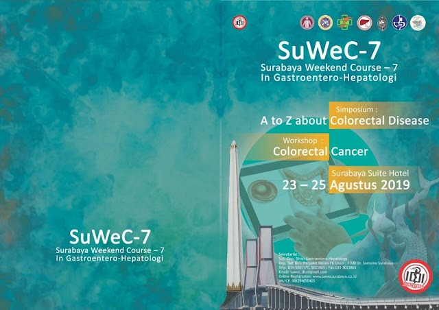 "Workshop and  Simposium ""A to Z about Colorectal Cancer"" 23-25 Agustus 2019 Surabaya"