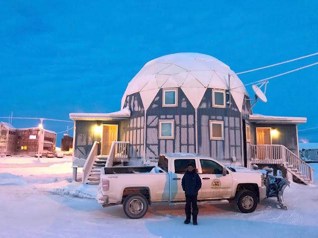 Barrow Alaska Neighborhood (C) 2020 Supratim Sanyal