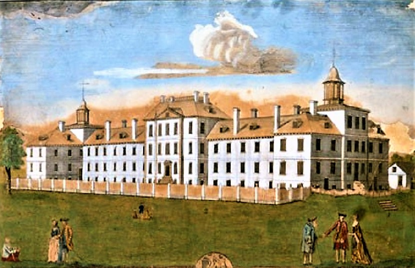 Early American Gardens & Farms: Landscape Design - Public Hospital Yards