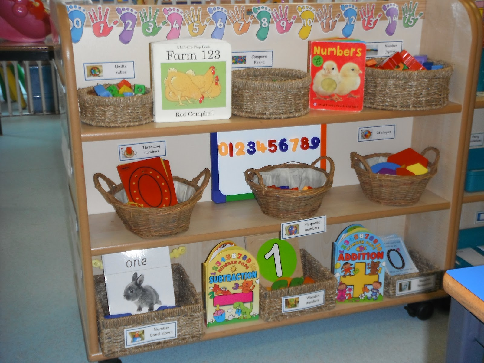 early years foundation stage writing area ideas