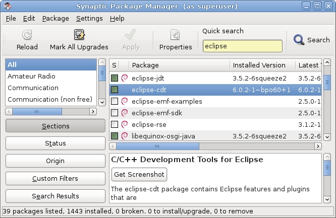 Linux, C++ and other Tortures: Shared Libraries with Eclipse