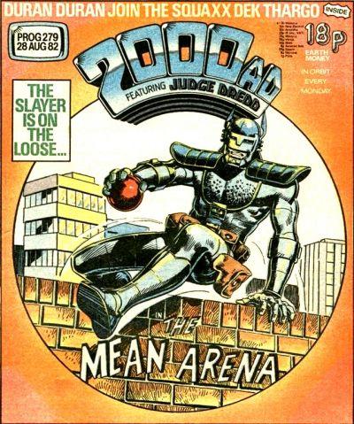 2000 AD Prog 279, Mean Arena