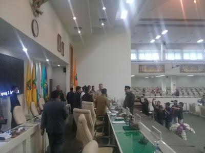 DPRD Provinsi Lampung Tunda Paripurna Pembentukan Pansus Politik Uang Pada Pilgub Lampung 2018