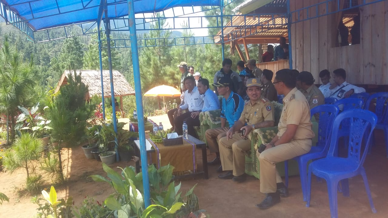 Wakil Bupati Mamasa Meresmikan Desa Tondok Bakaru Sebagai Desa Sadar Wisata Radar Nusantara News