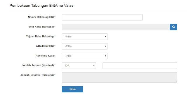 daftar online BRI