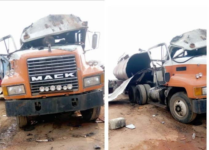 One killed as fuel tanker explodes in Anambra
