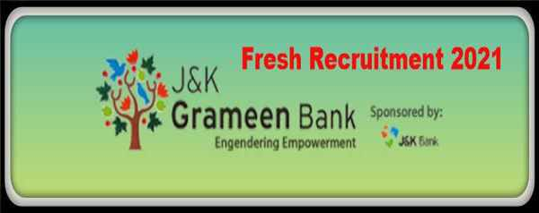 J&K Grameen Bank Over 183 Vacancies Out for Office Assistant (Multipurpose), Officer scale I,II,II Apply @ibps.in