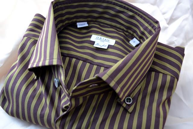 オリアンのボタンダウンシャツ