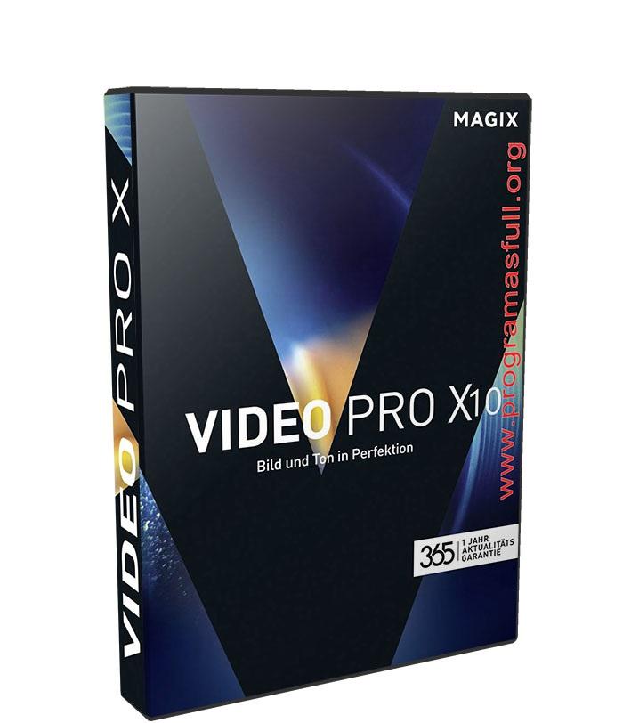 MAGIX Video Pro X10 16.0.1.236 poster box cover