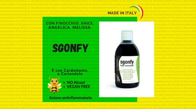 Fluido concentrato ad azione sgonfiante - Sgonfy Kirei