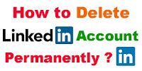 How to Delete Linkdin Account Permanently?