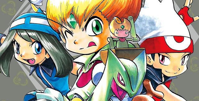 Pokémon Adventures: Emerald é anunciado no Brasil