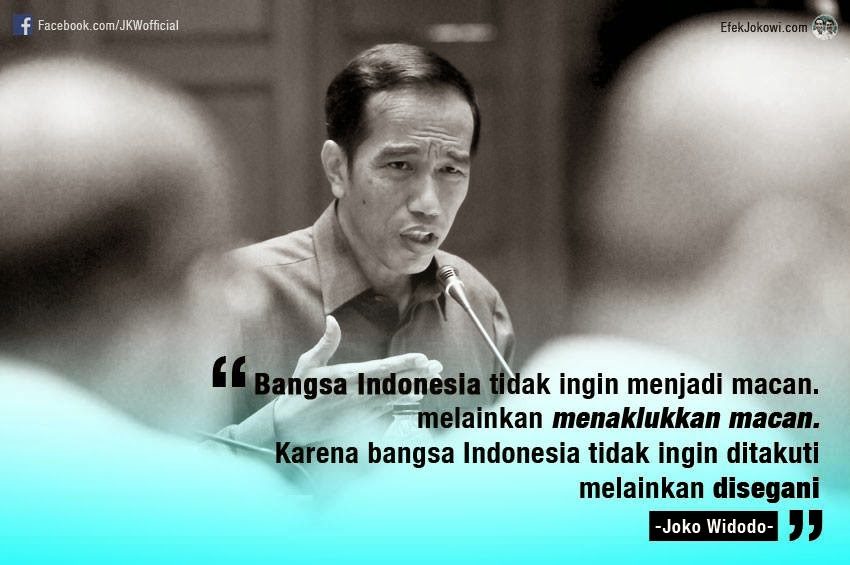 Kumpulan Gambar Kata Bijaksana Presiden Joko Widodo